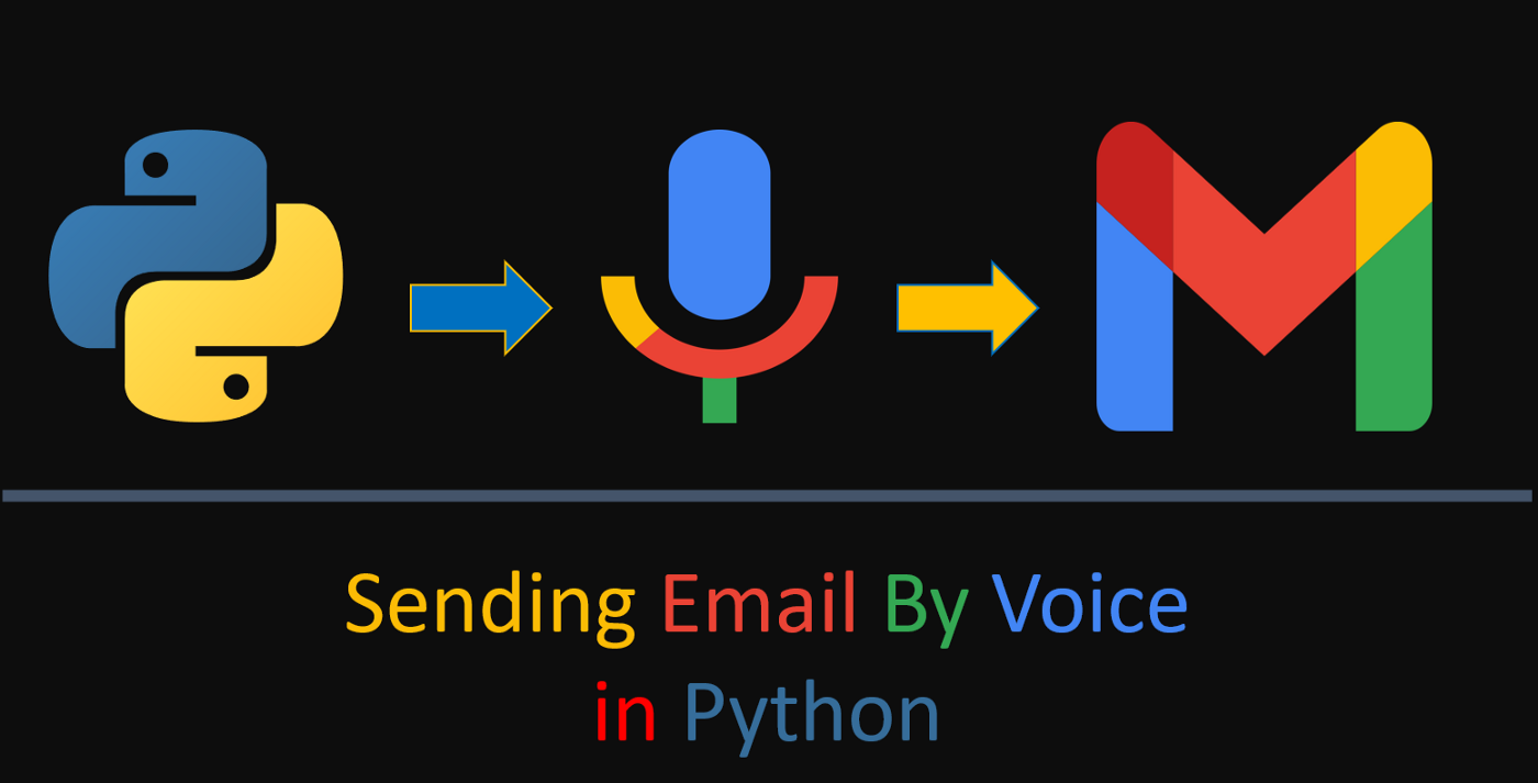 Sending Email By Voice in Python