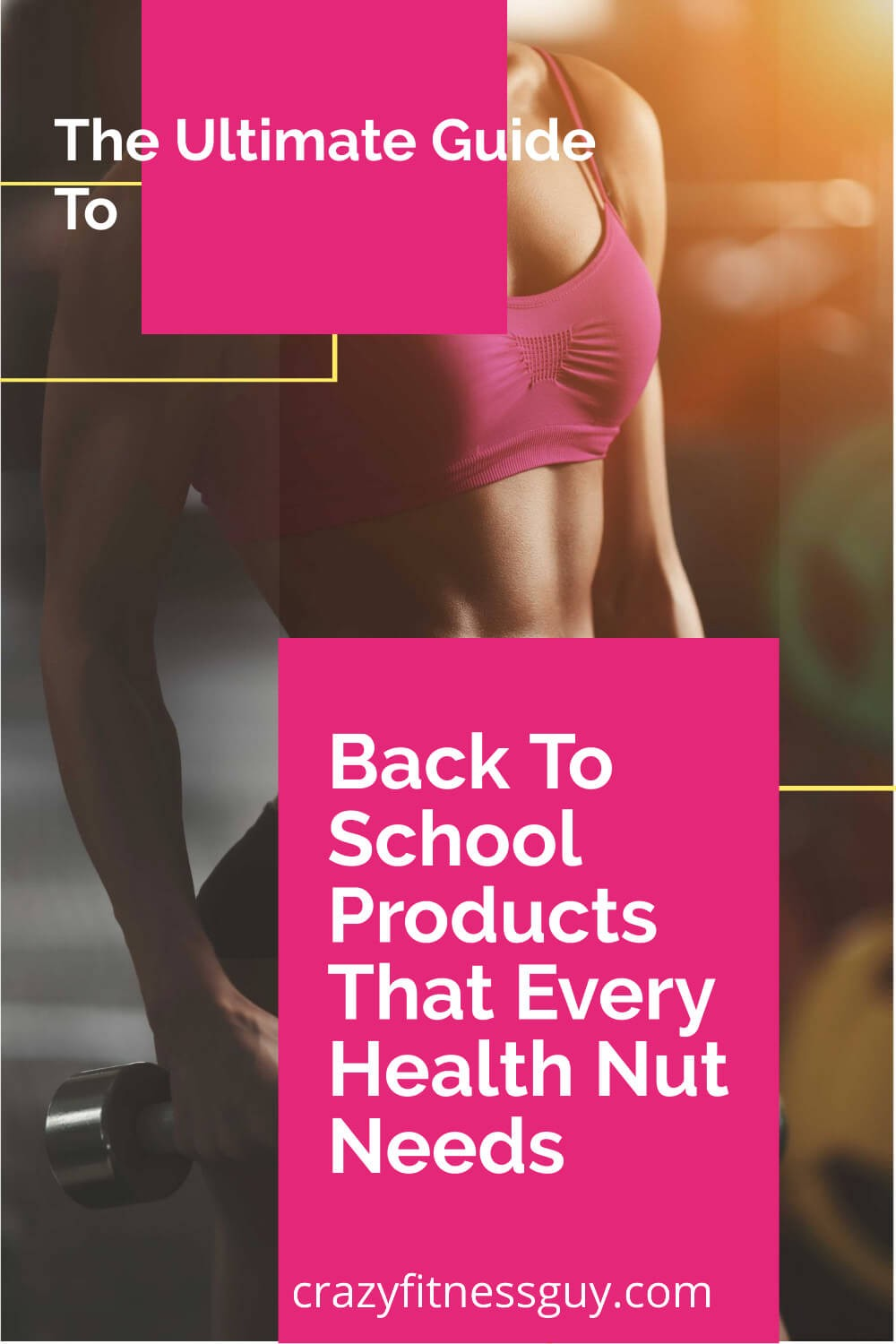Back To School Products That Every Health Nut Needs