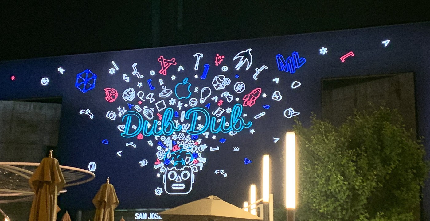 Screen at WWDC 2019