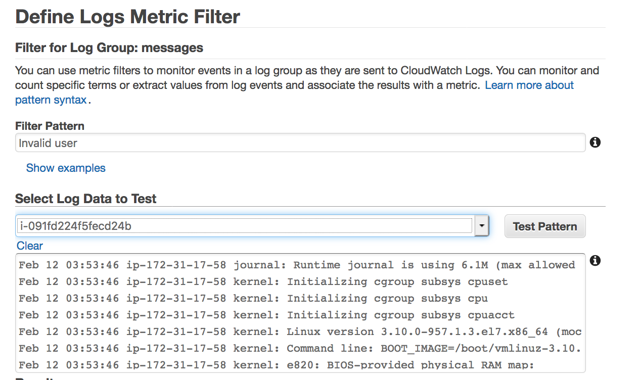 100 Days of DevOps — Day 6-CloudWatch Logs(Metric Filters)
