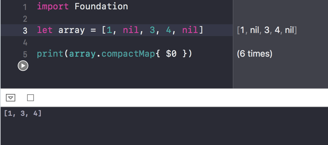 Higher order functions in Swift: Filter, Map, Reduce, flatmap