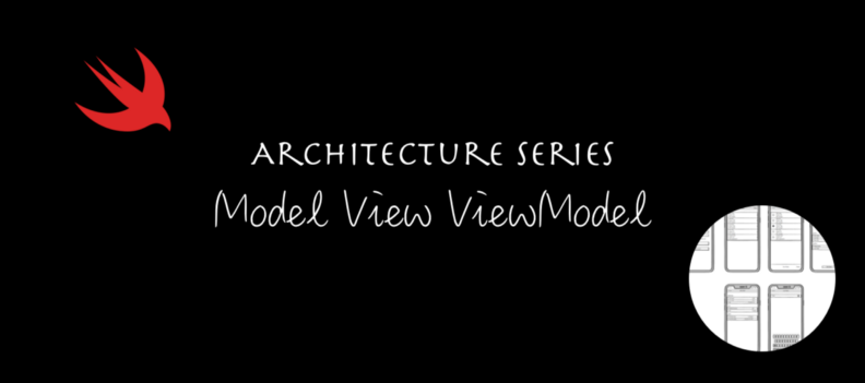 """The words """"Architecture Series Model View ViewModel"""""""