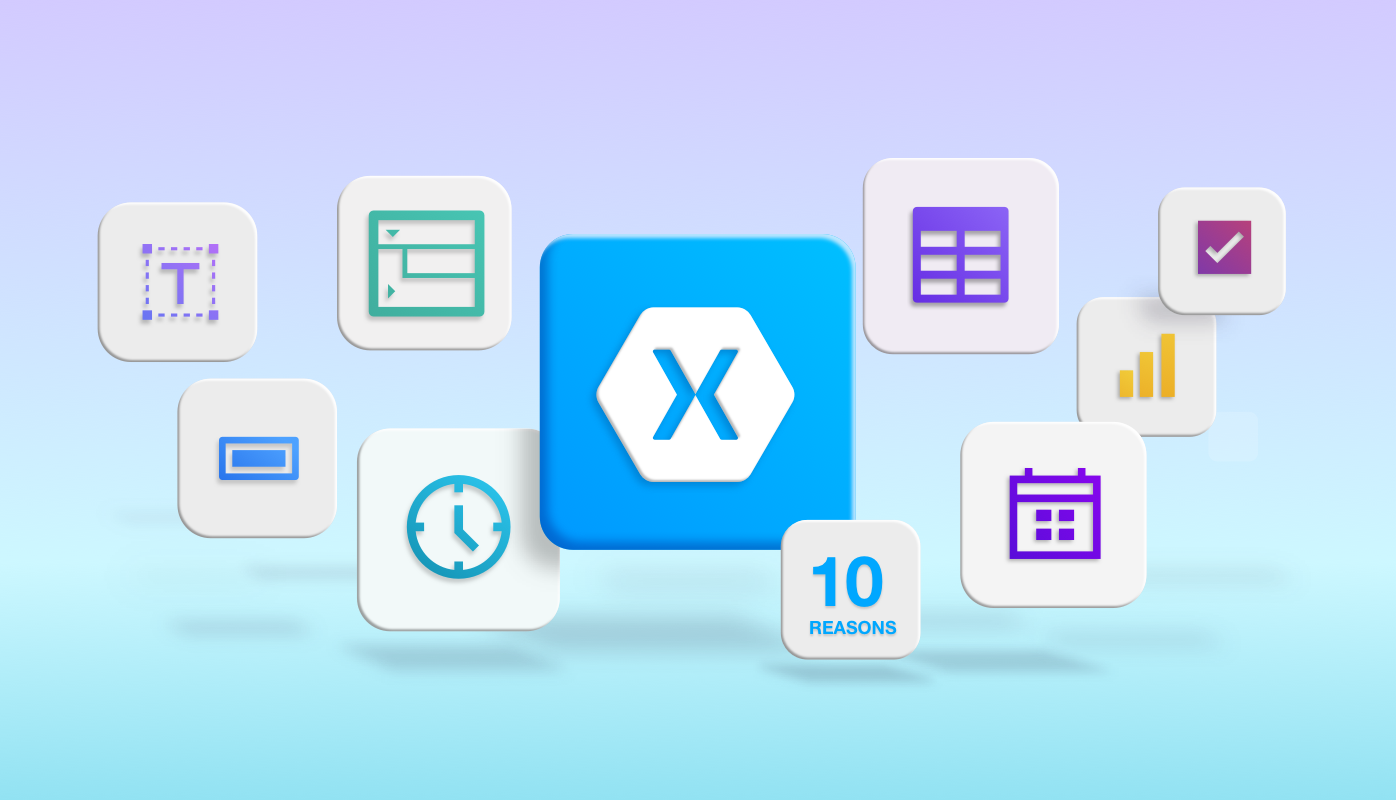 10 Reasons to Choose Syncfusion Xamarin Suite Over Others