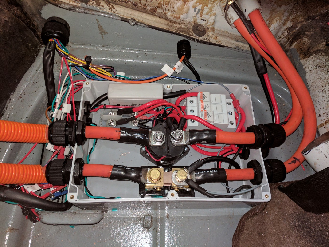 wiring a contactor box wiring diagram completed Wiring a Cooler