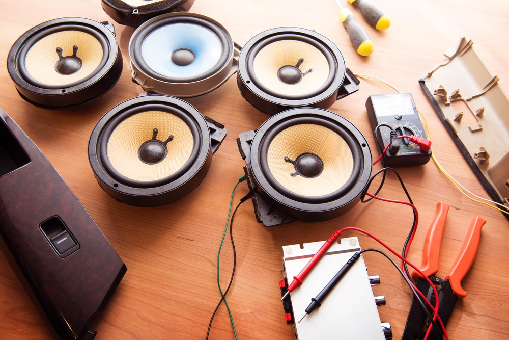 for the most part, the speaker configurations are going to be pretty simple