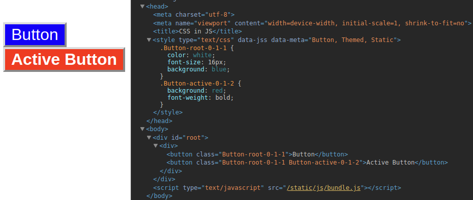 CSS in JavaScript with JSS and React - Jobsity - Medium