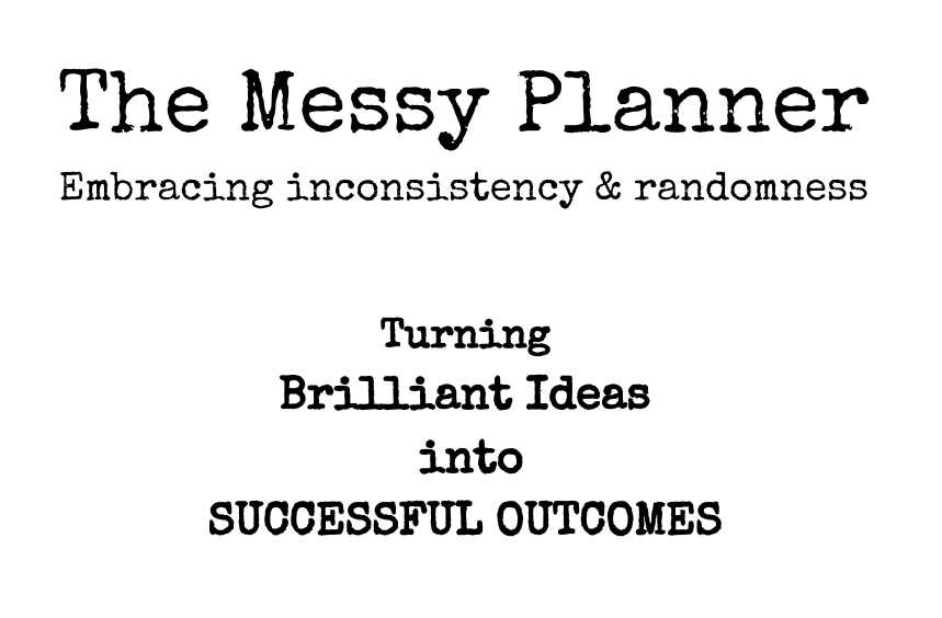 The Messy Planner Book Cover
