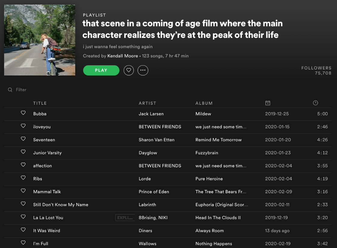 The Rise of Niche Spotify Playlists   by Kristin Merrilees   Medium