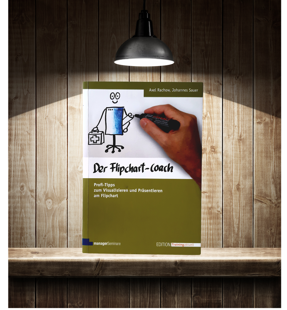 """Photo of the book """"The Flipchart Coach"""""""
