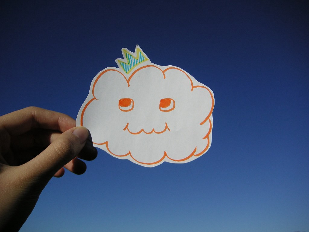 A photo of the cloud from https://www.flickr.com/photos/kky/704056791