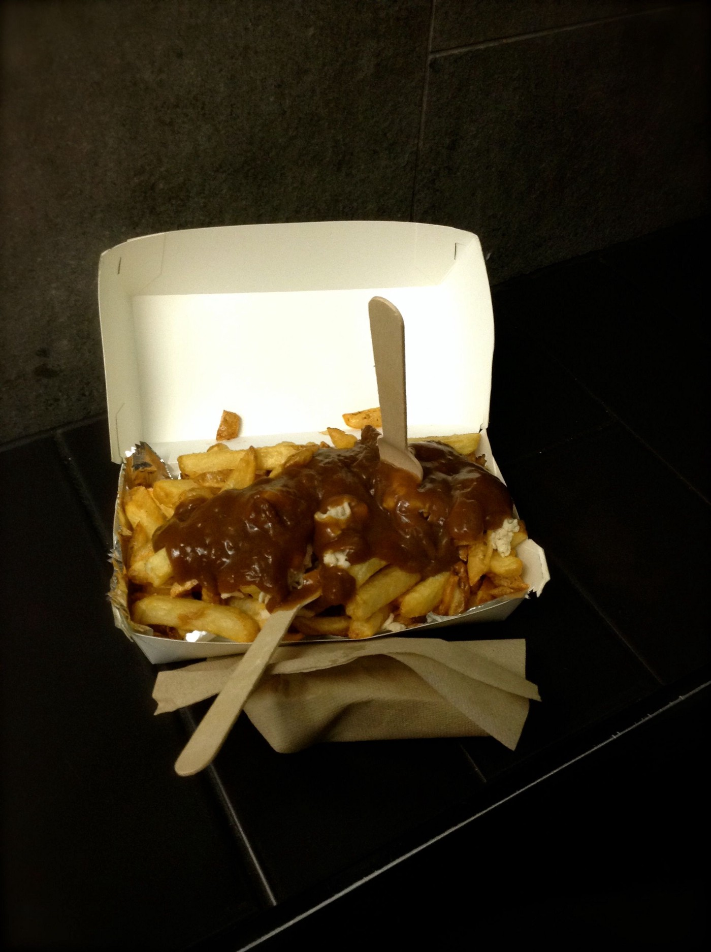 Lord of the Fries 'French Canadian Classic Fries' - Vegan cheese