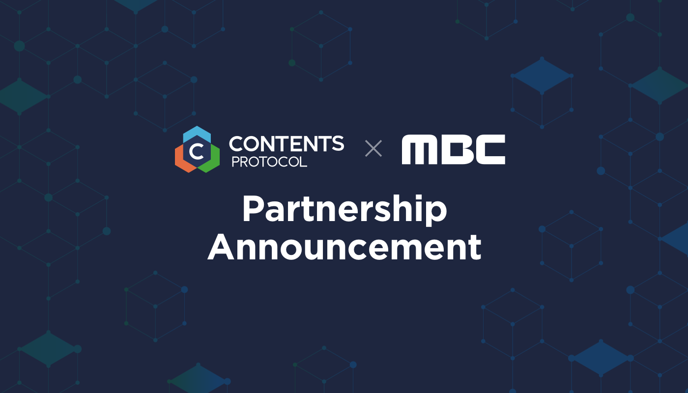 Contents Protocol partners with MBC, Korean broadcasting company