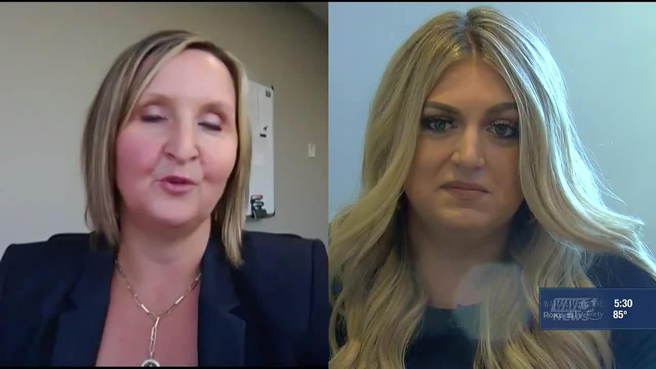 Screenshot of video interview on WYMT.com—Judge Rejects Divorce Request and Tells Couple To Work It Out