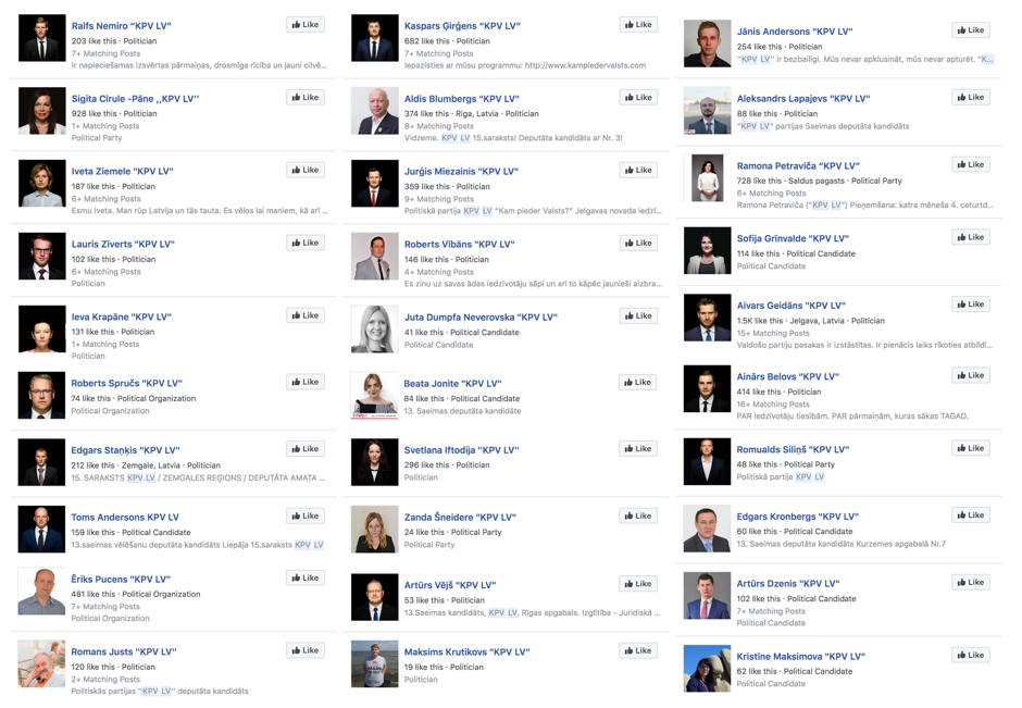 ElectionWatch: Influencers on Facebook Pivot to Support a Latvian Party