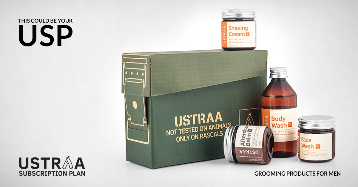 Ustraa' by Happily Unmarried redefines the Indian male grooming Industry
