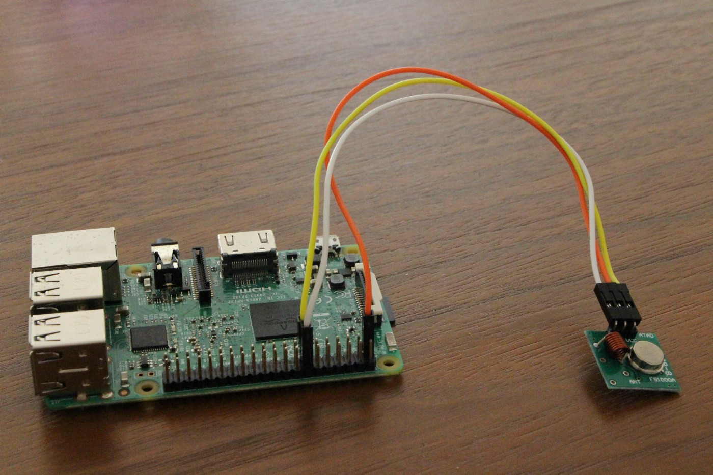 Voice controlled lights with a Raspberry Pi and Snips