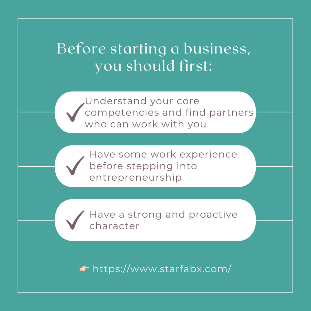 What advice do you have for someone who is looking into starting their own business?