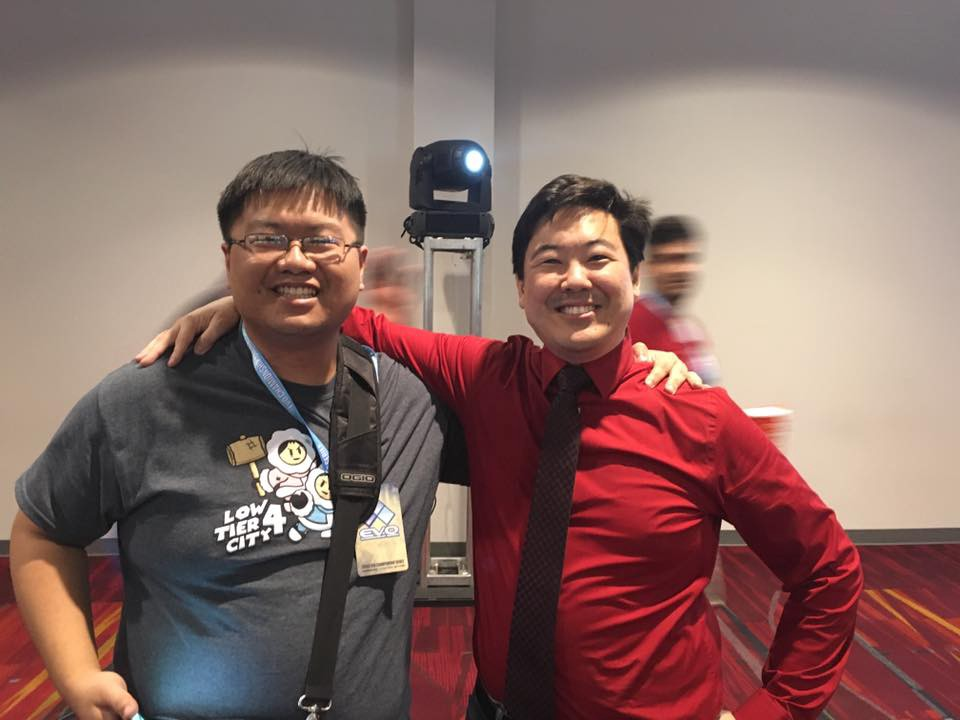 I'm the James Chen on the left.