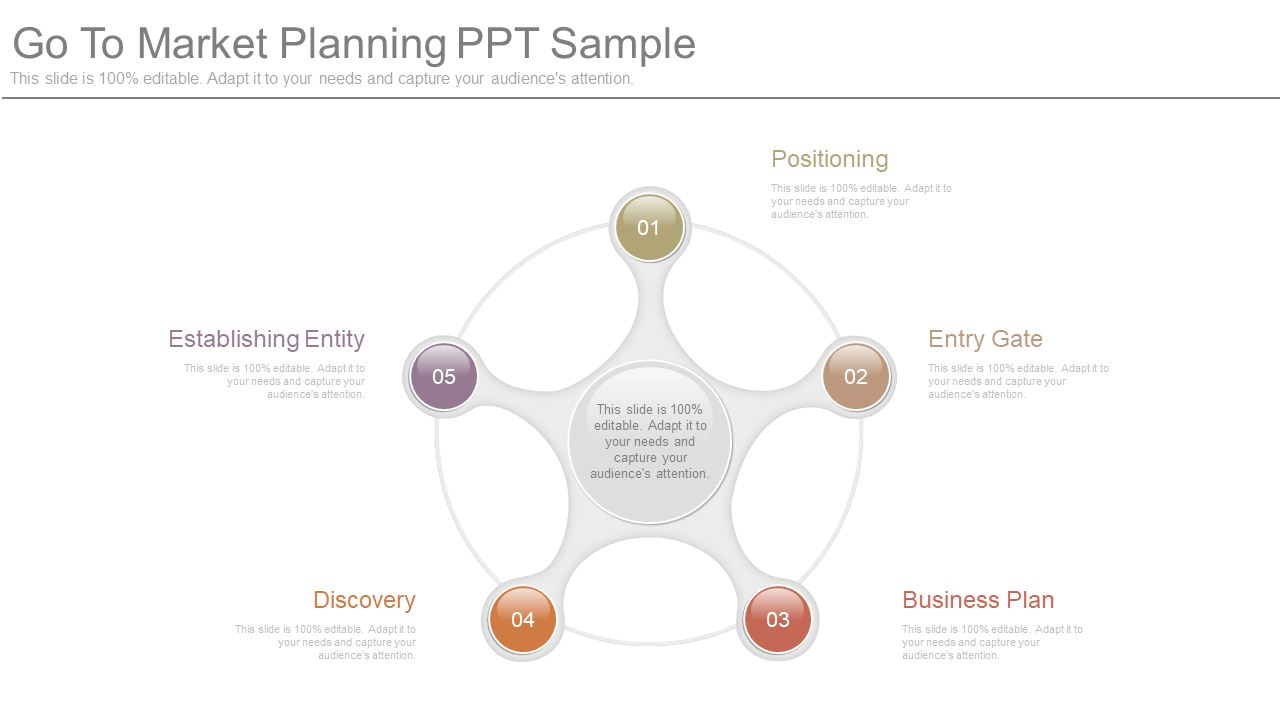 Go to Market Planning PowerPoint Template