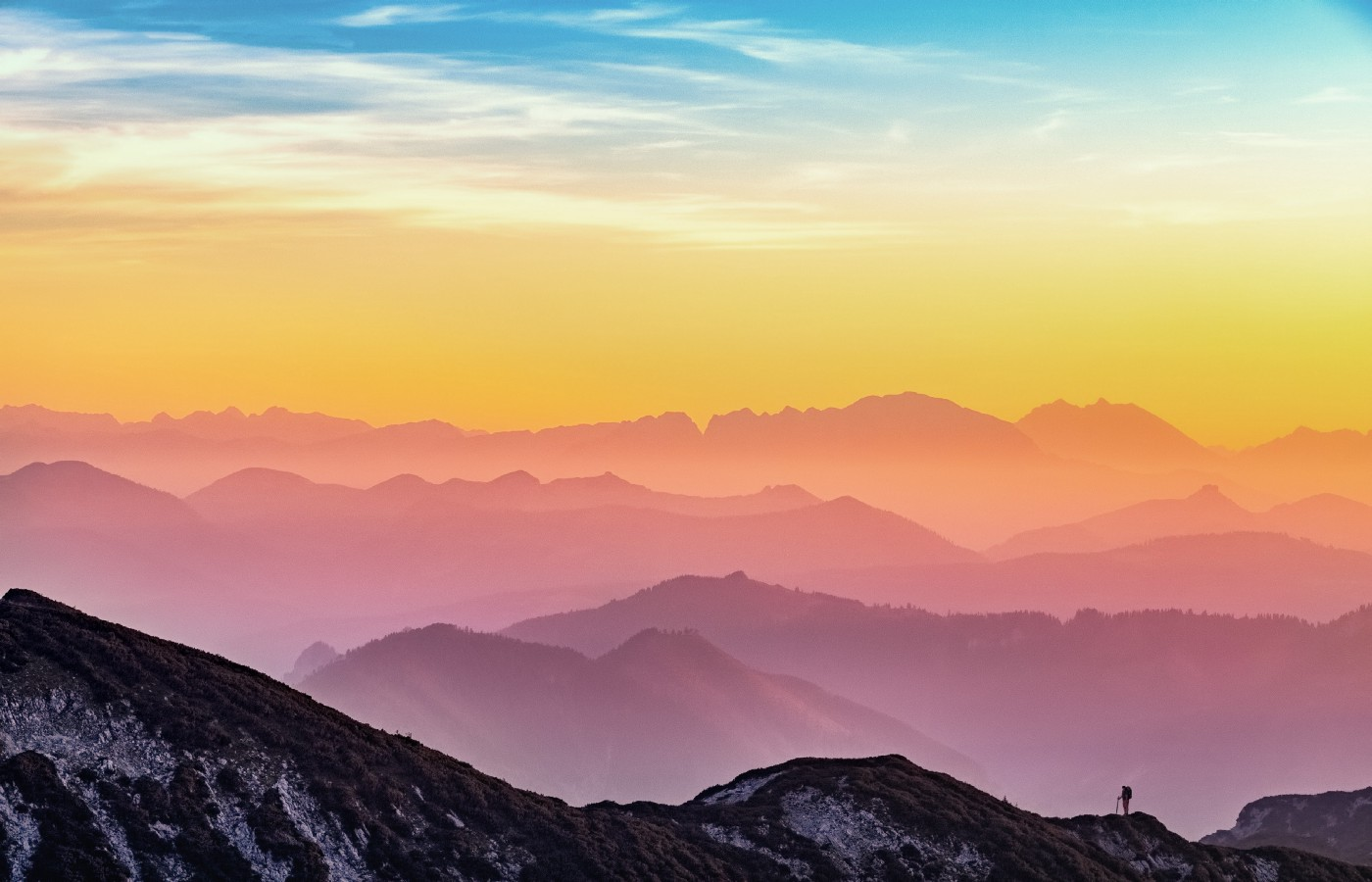 stock colorful mountain image