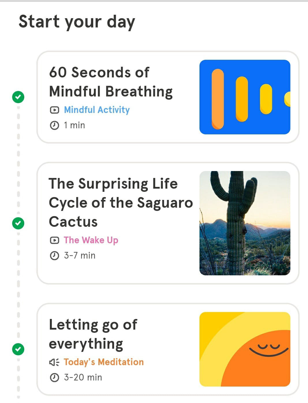 Headspace Wake-up Routine