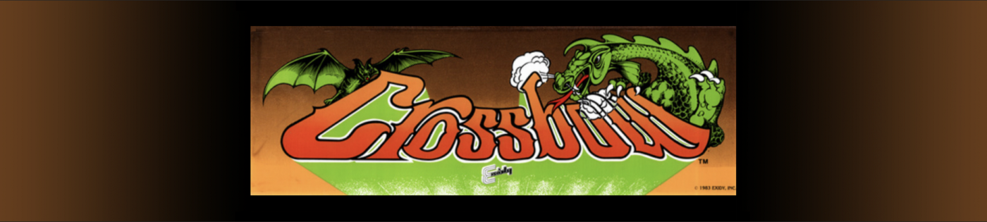 Crossbow Arcade Game © 1983, Exidy, Inc.