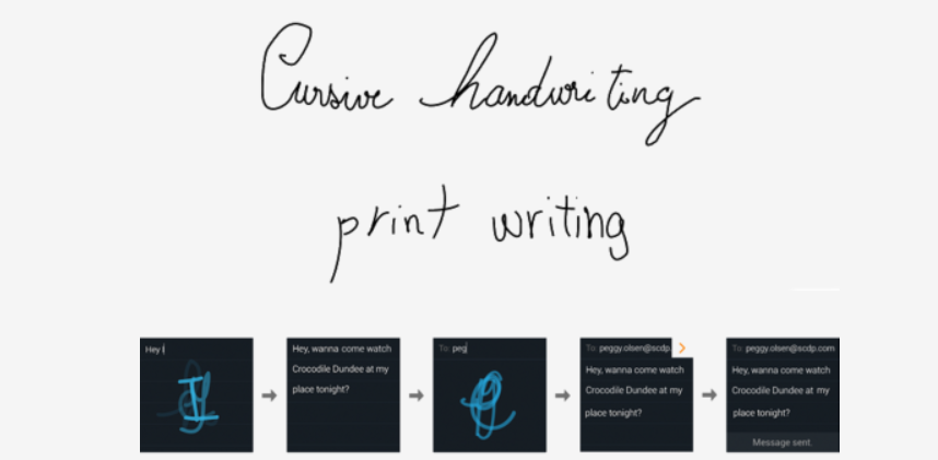 Handwriting Recognition Sdk- Part 1 - Noteworthy - The Journal Blog