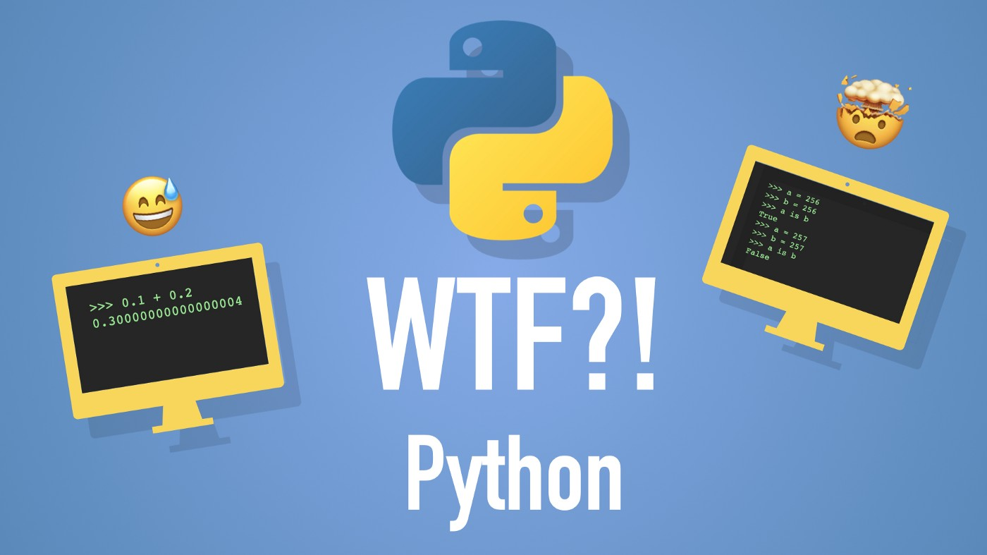 WTF?! Python (head exploding and lol emojis)