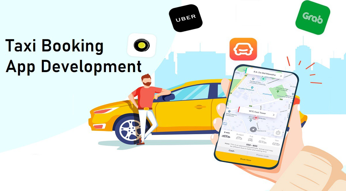 How To Develop A Taxi Booking App In 2021 image