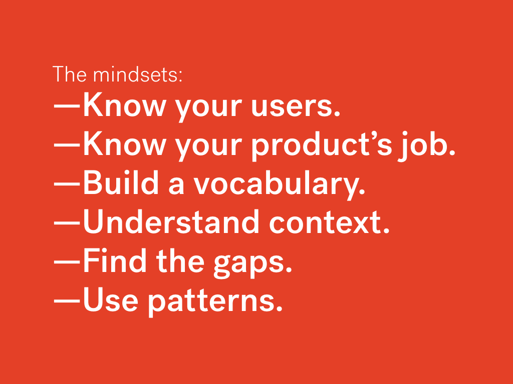 Stop reacting to mocks and own your product with UX mindsets