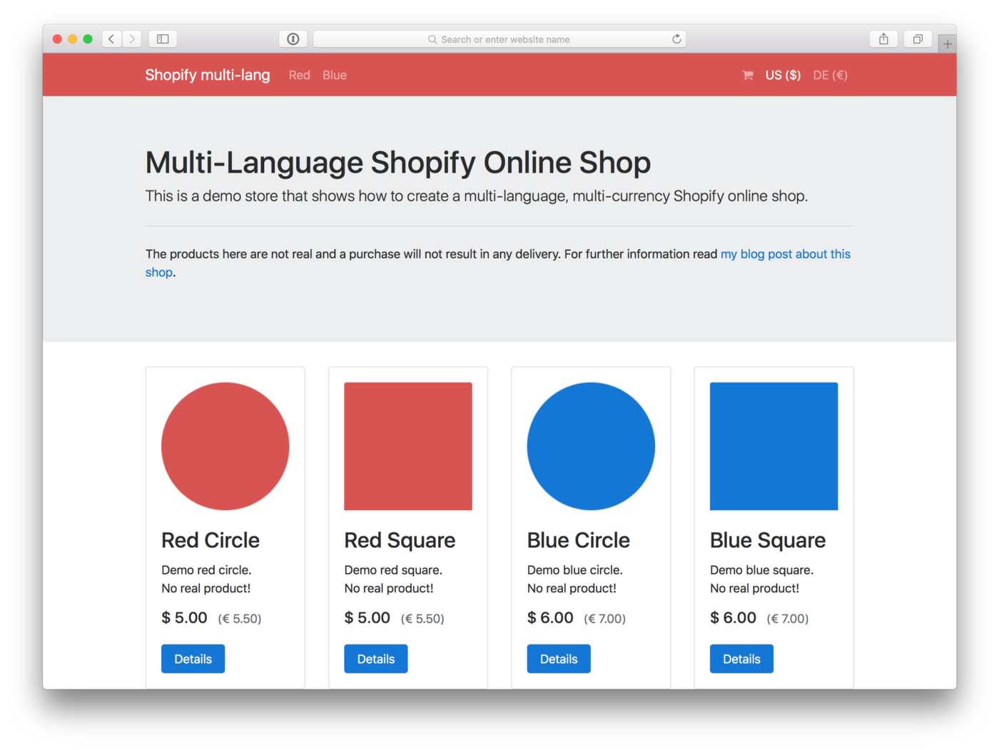 Multi-Language Shopify Online Shop - Markus Tripp - Medium