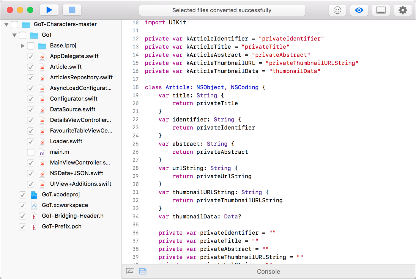 Converting Complex Objective-C Codebases to Swift - Swiftify - Medium
