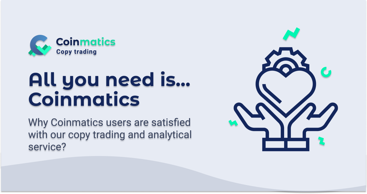 All you need is Coinmatics