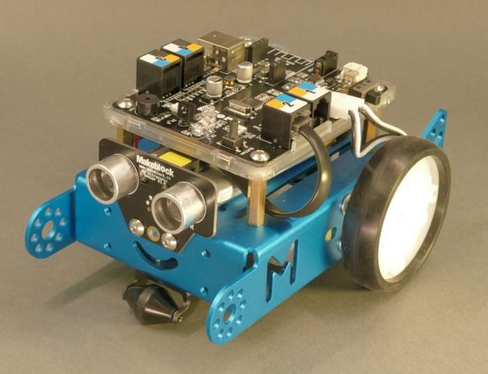 How to program hand following mBot with XOD PID-controller