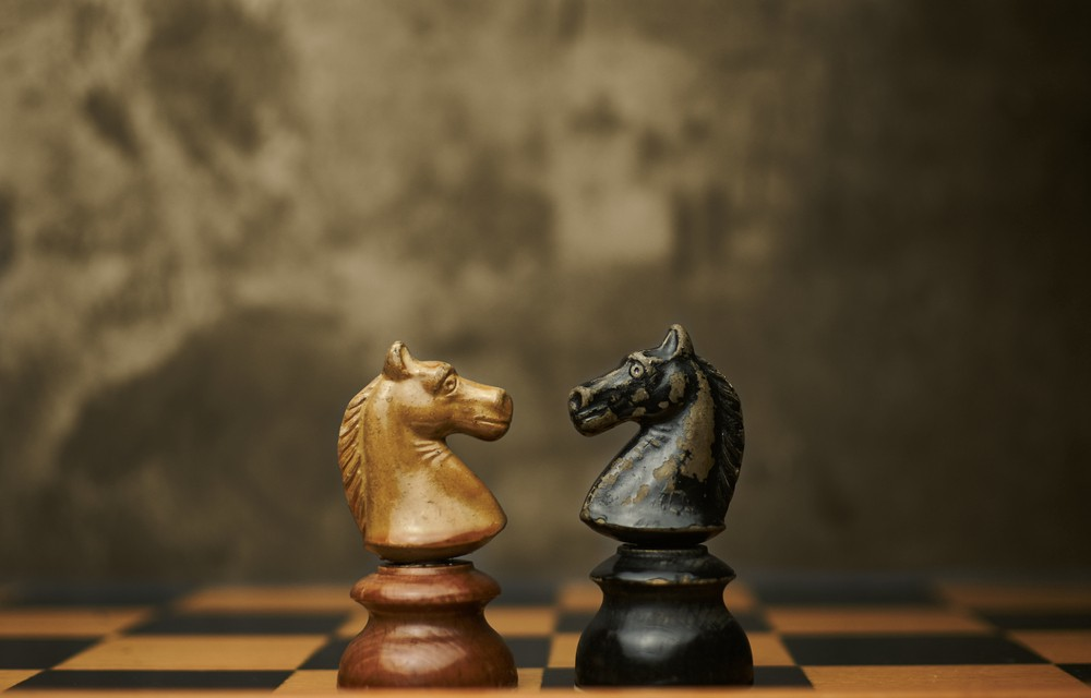 Duelling terminology. By Thomas Marx, Shutterstock