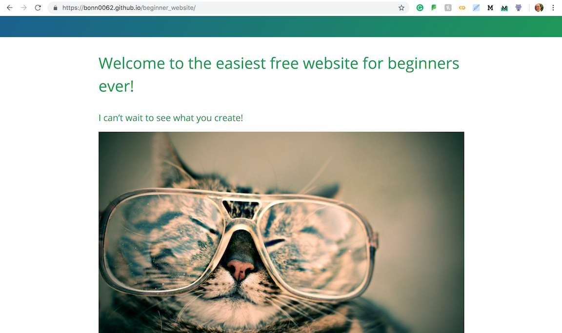 How to effortlessly create a website for free with GitHub Pages