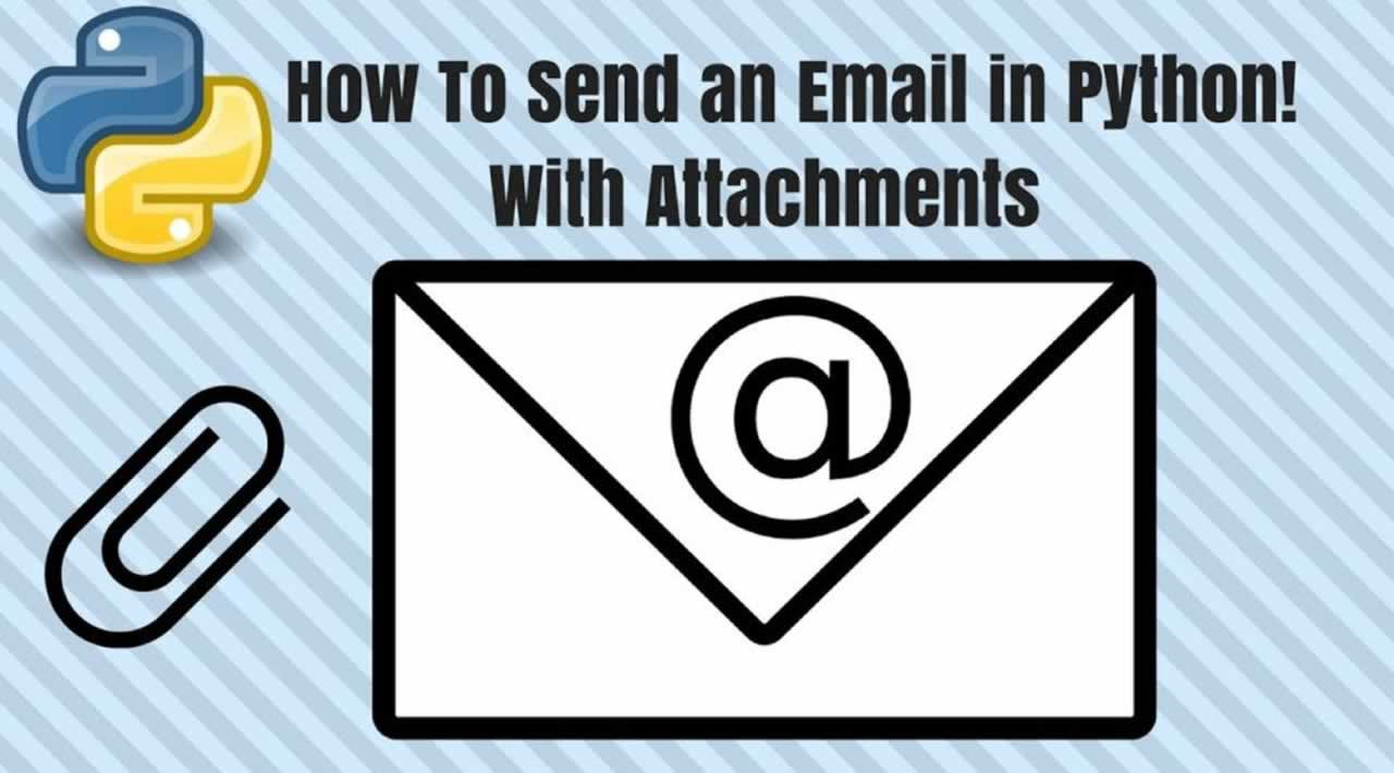 Send Attachment Mail's From Python