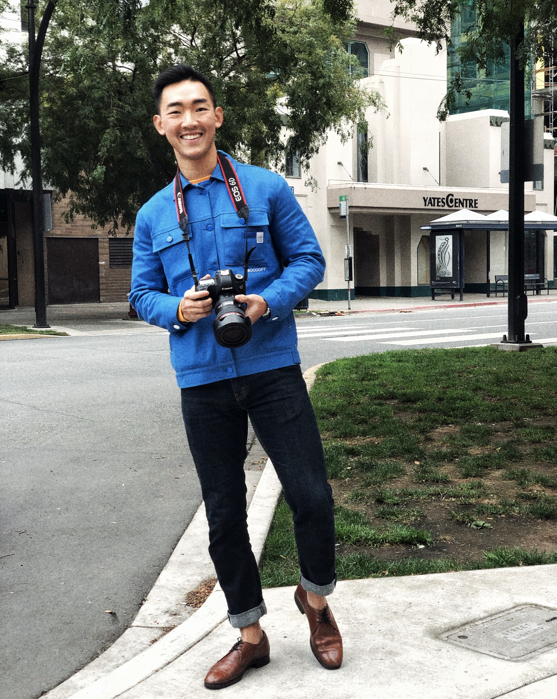 Li in Victoria, BC shooting a catalog with a new collection of HALT CREATION, 2019