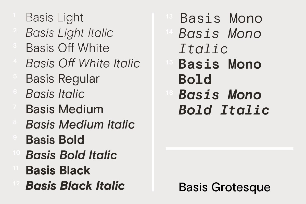 Introducing Space Mono a new monospaced typeface by Colophon Foundry
