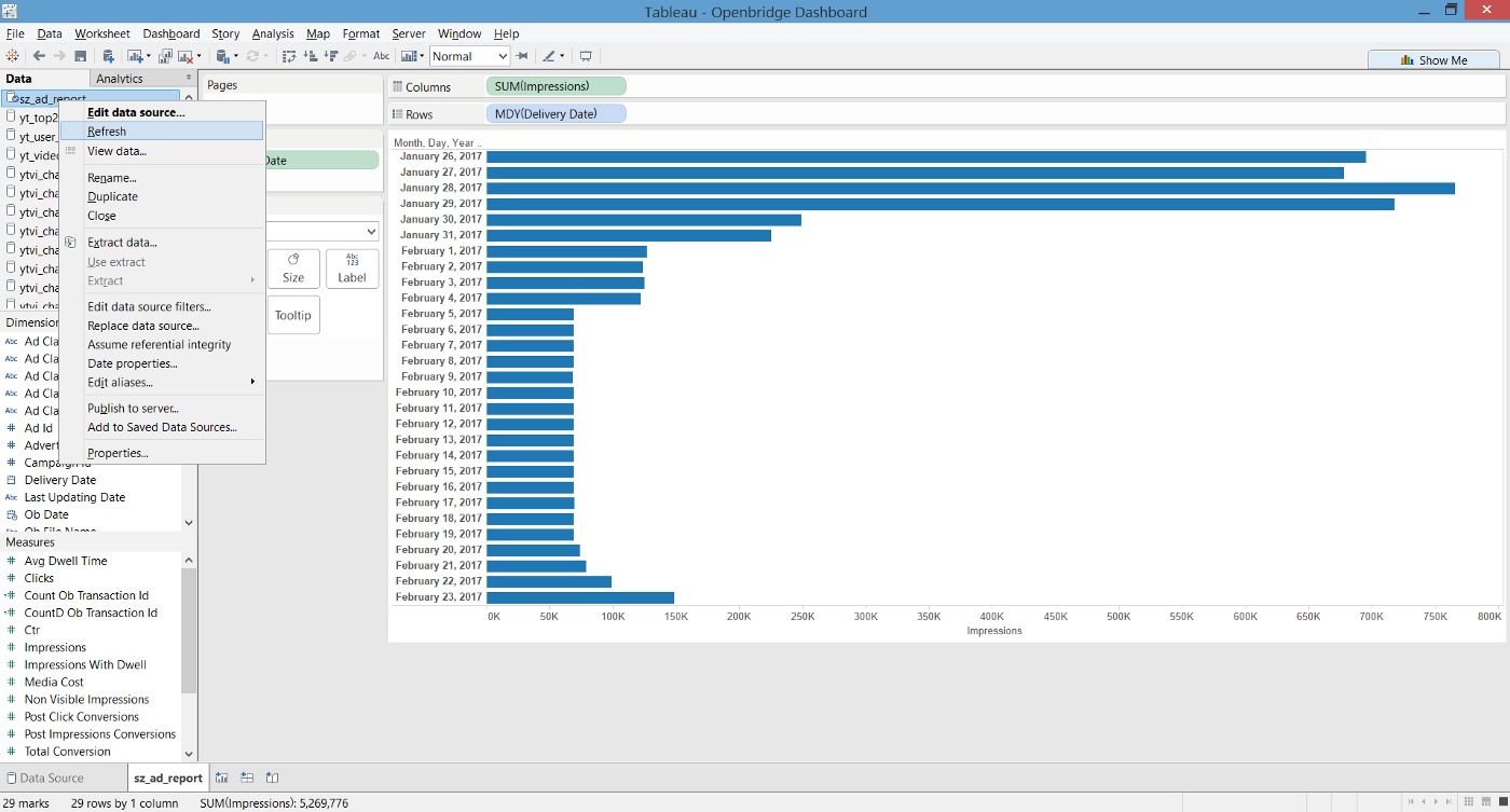 7 Steps To Export SQL Statements From Tableau - Openbridge