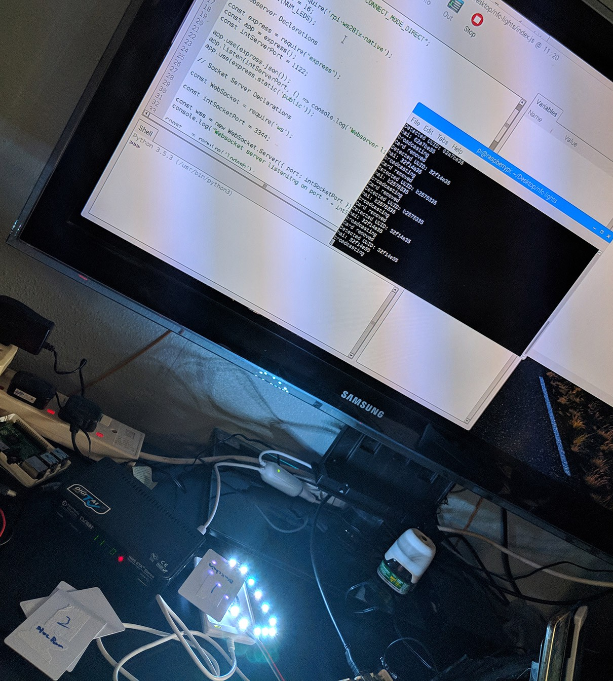 Building A RFID-Triggered Interactive Table for IBM with Node and