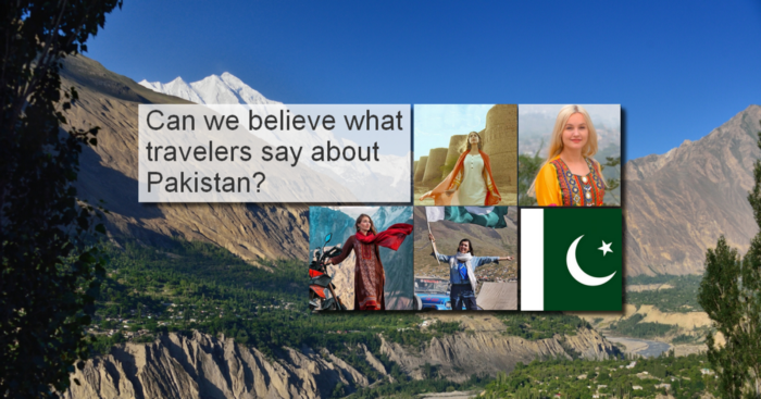 """Can we believe in what travelers say about Pakistan? Are they accurate, fair and independent?"" — Bernard Grua"