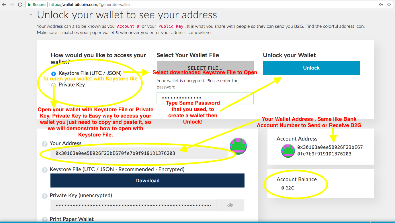 How to Claim Your B2G And Create B2G Wallet - Bitcoiin2Gen - Medium