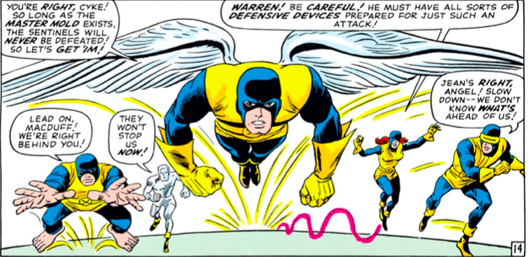 Group shot of the X-Men