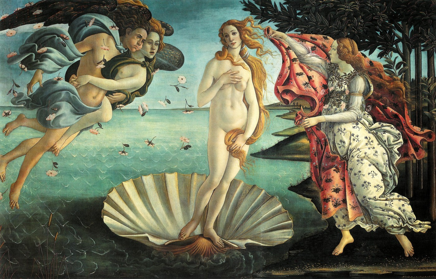 By Sandro Botticelli (1445–1510 CE), commissioned by Lorenzo and Giovanni di Pierfrancesco de'Medici for Villa di Castello
