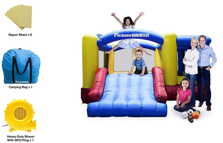 best inflatable bounce house, best bounce house, cool bouncy houses, best indoor bounce house,