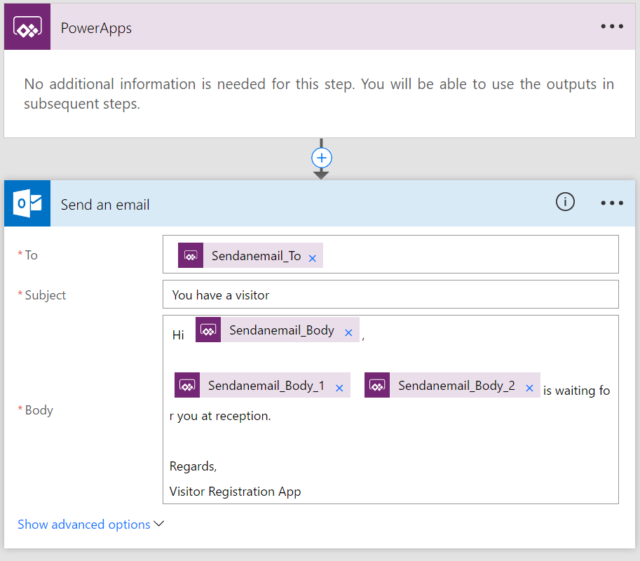 Using Office 365 PowerApps and Microsoft Flow to build your own