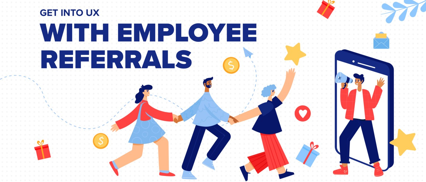 Employees are the best referrals illustration