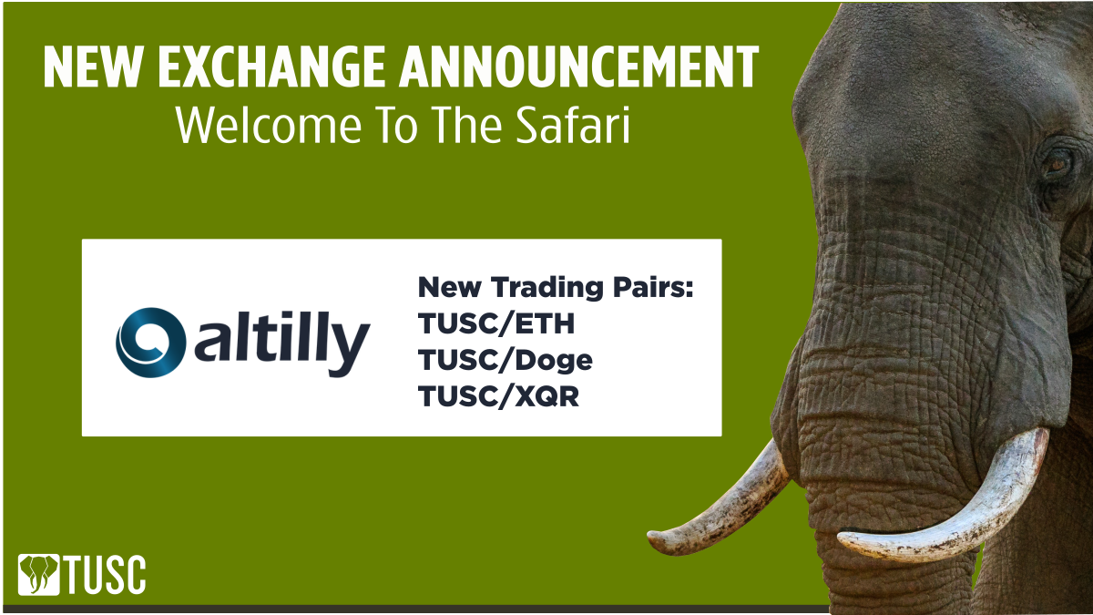New TUSC Trading Pairs on Altilly