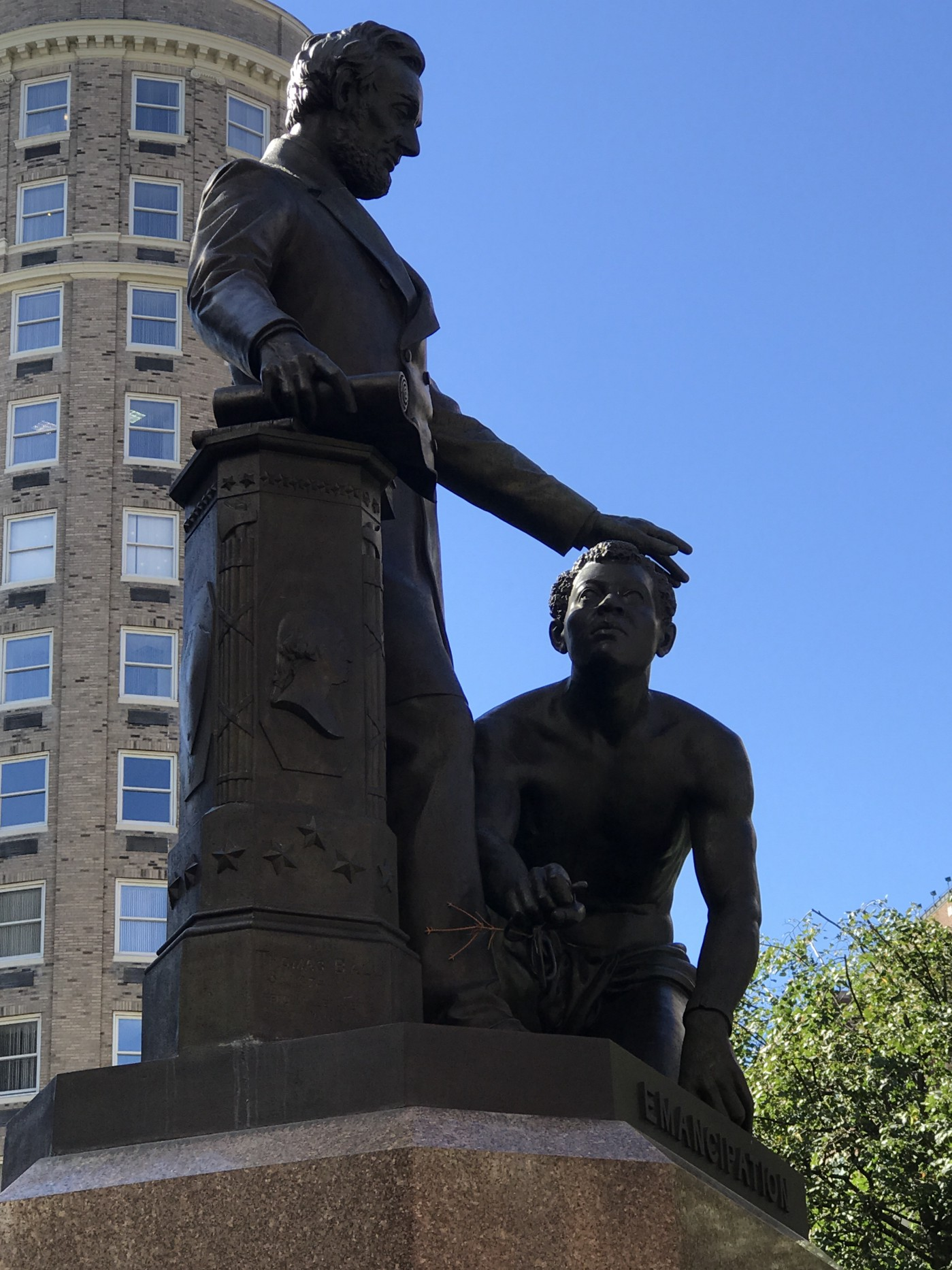 A monument to white supremacy stands uncontested in our own back yard